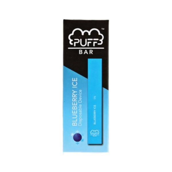 Puff Bar Blueberry Ice