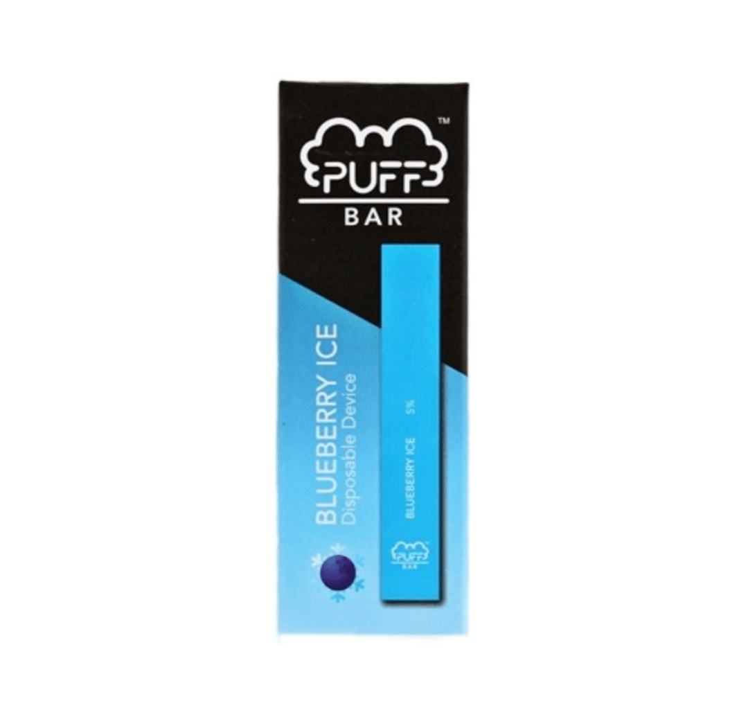 Puff Bar Blueberry Ice